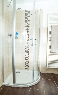 Duschbad mit Sauna